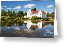 Wanas Slott And Lake Greeting Card