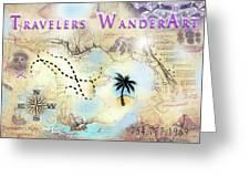 Wanderart Greeting Card