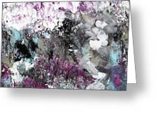 Wanderlust- Abstract Art By Linda Woods Greeting Card