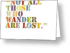 Wanderlust Greeting Card by Cindy Greenbean