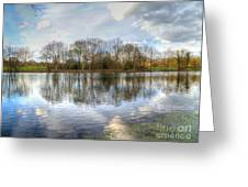 Wanstead Park Reflections Greeting Card