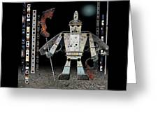 War Games With Fritz Greeting Card