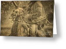 War Horse2 Greeting Card