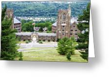 War Memorial Lyon Hall Cornell University Ithaca New York 01 Greeting Card