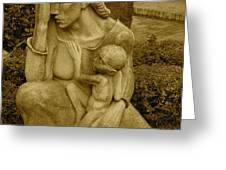 War Mother By Charles Umlauf Greeting Card