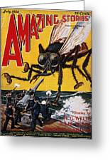 War Of The Worlds, 1927 Greeting Card