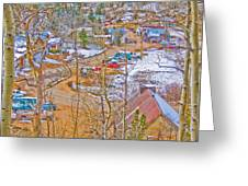 Ward Boulder County Colorado  Greeting Card