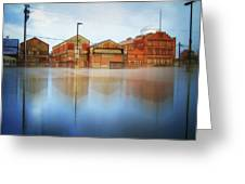 Warehouses Greeting Card