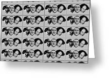 Warhol - Three Stooges Andy Warhol Greeting Card