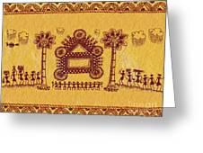 Warli Ceremony Greeting Card
