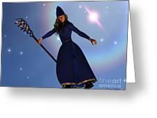 Warlock Greeting Card