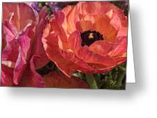 Warm Flower Friends Greeting Card