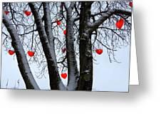 Warm Hearts Color A Tivoli Gardens Greeting Card