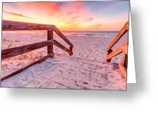 Warm Sunrise Greeting Card