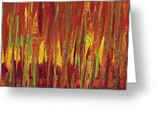 Warm Tones Greeting Card