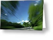 Warp Speed Greeting Card