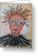Warrior Woman  #3 Greeting Card