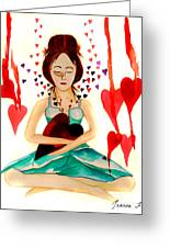 Warrior Woman - Tend To Your Heart Greeting Card