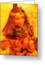 Warrioress 3 Greeting Card