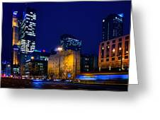 Warsaw Downtown Greeting Card