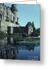 Warwick Castle Greeting Card by David Pettit