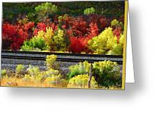 Wasatch Fall Greeting Card