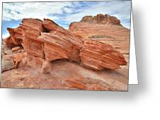 Wash 3 Beehives In Valley Of Fire Greeting Card
