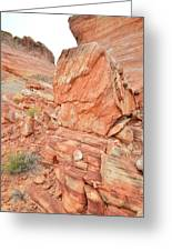 Wash 3 Of Valley Of Fire Greeting Card