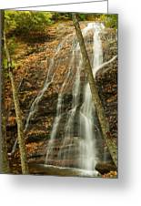 Wash Hollow Falls Nantahala National Forest Nc Greeting Card
