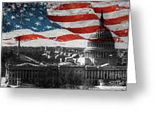 Washington Dc 56t Greeting Card