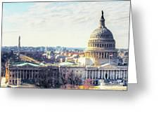 Washington Dc Building 9i8 Greeting Card