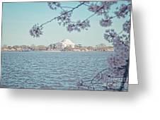 Washington Dc In Spring Greeting Card