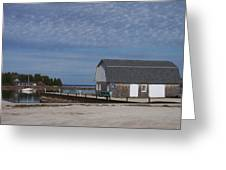Washington Island Harbor 1 Greeting Card