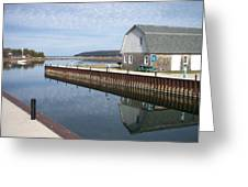 Washington Island Harbor 2 Greeting Card