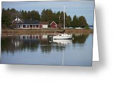 Washington Island Harbor 4 Greeting Card