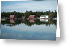 Washington Island Harbor 5 Greeting Card