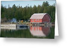 Washington Island Harbor 6 Greeting Card