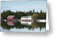 Washington Island Harbor 7 Greeting Card