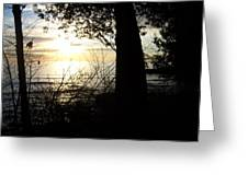 Washington Island Morning 1 Greeting Card