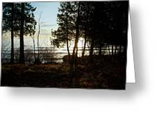 Washington Island Morning 3 Greeting Card