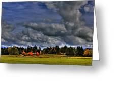 Washington Landscape Greeting Card