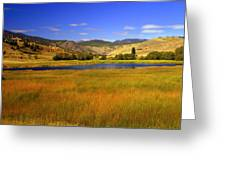 Washington Landscape Greeting Card