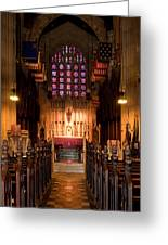 Washington Memorial Chapel Greeting Card
