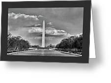 Washington Monument # 12 Greeting Card