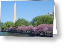 Washington Monument 2 Greeting Card