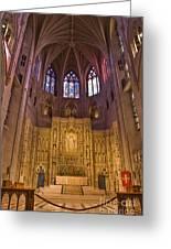 Washington National Cathedral IIi Greeting Card by Irene Abdou