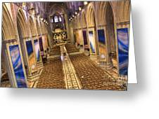 Washington National Cathedral Iv Greeting Card