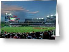 Washington Nationals In Our Nations Capitol Greeting Card