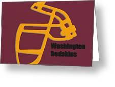Washington Redskins Retro Greeting Card