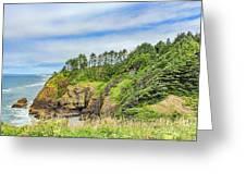Washington State Coastline Greeting Card